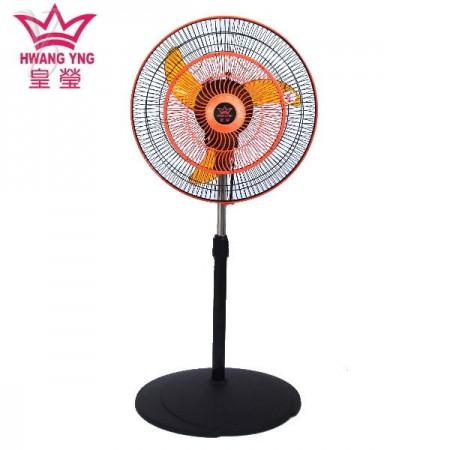皇瑩 16吋 3D立體擺頭 8方吹商業用桌立扇 HY-1603R