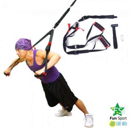 任意門多功能懸吊訓練繩(懸吊核心/門扣拉繩/門擋/懸吊運動/懸浮訓練)Funsport