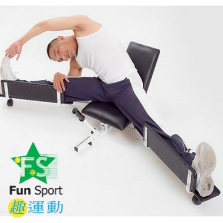 《Fun sport》【拉筋專用】高級拉桿式擴腳器-台灣製造