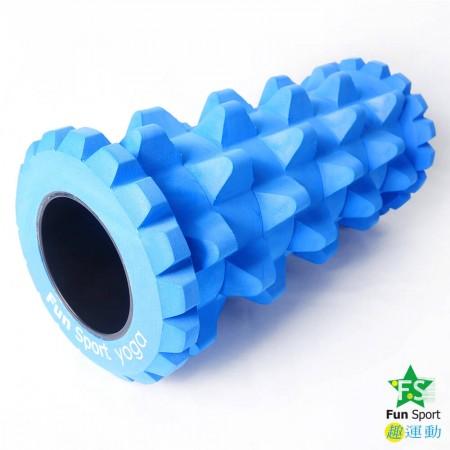 波動力運動按摩滾筒-海洋藍(送收納袋)Funsport