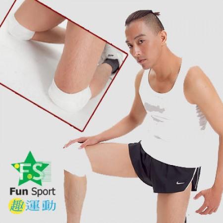 《Fun sport》武術跆拳腿部專用針織『護膝』台灣製