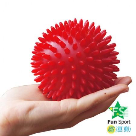 《Fun Sport》刺爽掌中按摩球/觸覺球/刺蝟球(3入)-10cm硬款