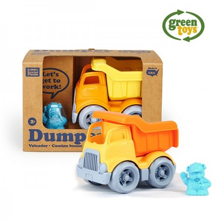 美國【greentoys】小河馬翻斗車