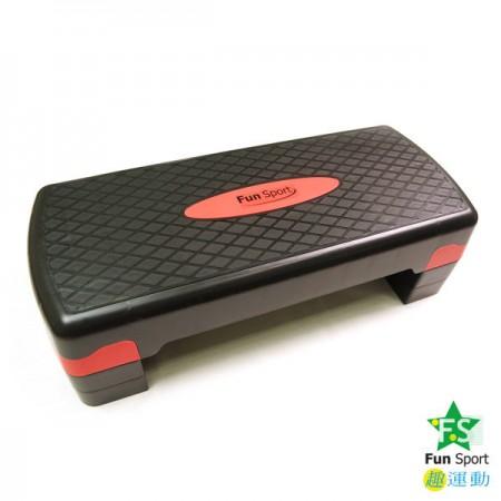 Fun Sport快節奏-階梯踏板(三段高度)(韻律舞踏板/階梯舞/有氧高低衝擊/階梯有氧/三階段)