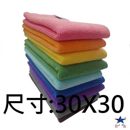 30x30科技超纖魔布  台灣製造 有效去除油汙 灰塵 髒汙 不留棉絮 觸感超柔細 抹布