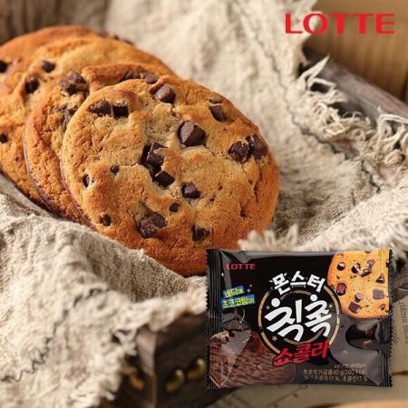 (1盒10入)  LOTTE厚醬奶油曲奇餅乾(巧克力脆片)  甜點控必吃 下午茶新選擇