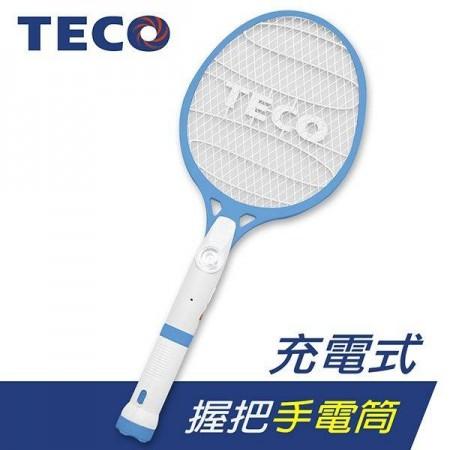 東元三層電蚊拍 強力電擊有效擊蚊 分離式LED手電筒 防蚊