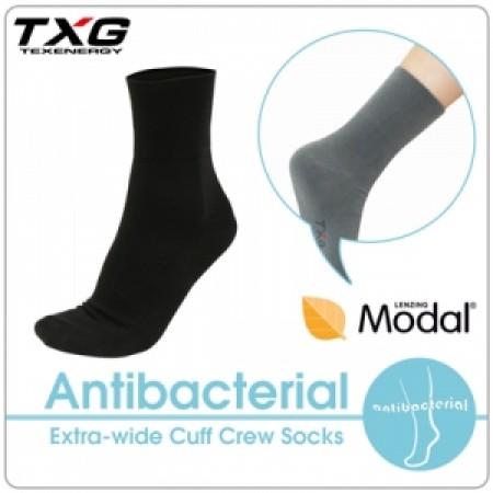 TXG 長效性抗菌除臭無痕寬口襪(3雙入)