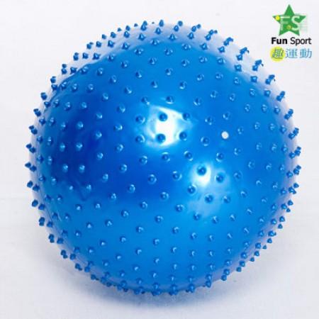 《Fun Sport》顆粒抗力球(65CM)台灣生產(紅/藍/紫三色可選)-