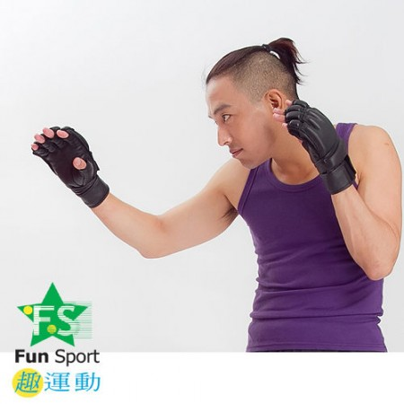《Funsport》 牛皮格鬥訓練手套