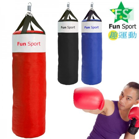 《Fun sport》《拳擊專用》美式尼龍沙包袋-三色可選-台灣製(可加購鐵架、簡易吊鉤)