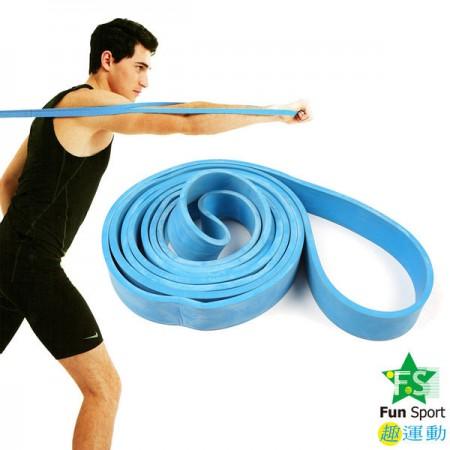 《Fun Sport》大力環(中力款)-彈力肢體訓練帶(健身復健)/拉力環/橡膠環/伸展帶