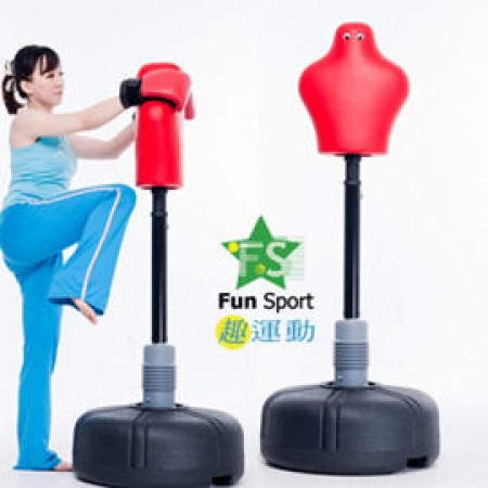 《Fun Sport》趣味人型旋轉式拳擊練習器