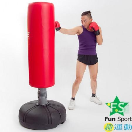 《FunSport》 拳擊座打擊練習器(18公斤)含護套+12盎司拳擊手套