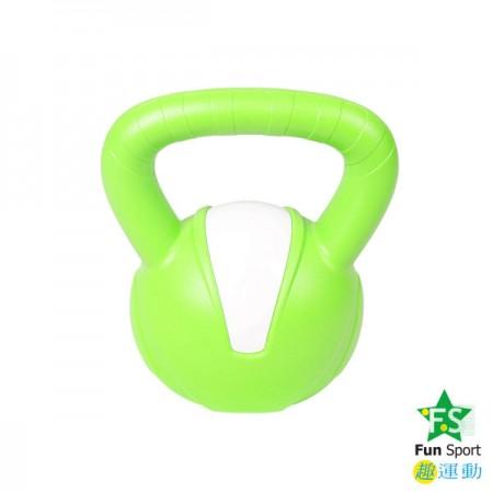 《Fun Sport》8公斤壺鈴kettlebell(綠)-台灣製造