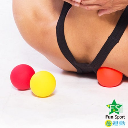 《Fun Sport》舒肌樂激痛點(Trigger point)按摩球(3種硬度組合)