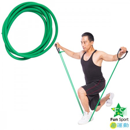 《Fun Sport》力舒展彈力伸展繩(300cm)-台製