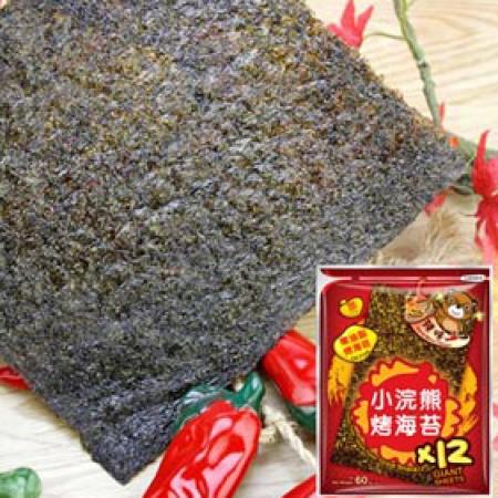 【稑禎】泰國小浣熊烤海苔-辣味(全素) 團購指定商品60g (12包組)