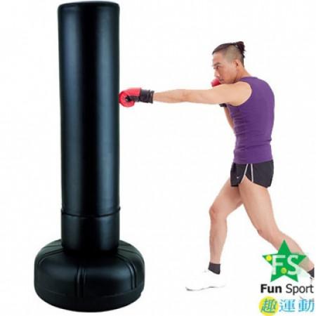 預購《FunSport》 大型拳擊座打擊練習器(23kg)含護套-送12盎司拳擊手套