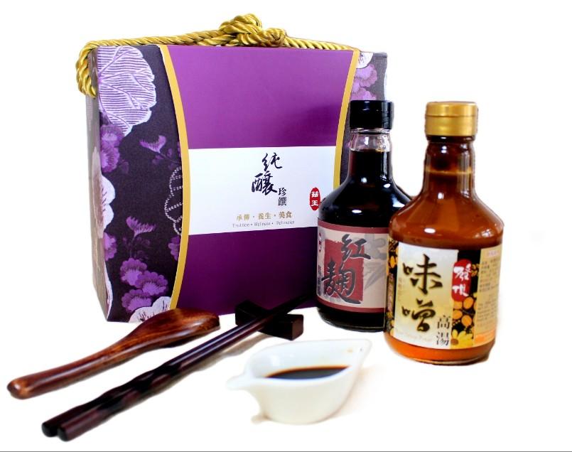 【禮盒】菇王 純釀珍饌禮盒