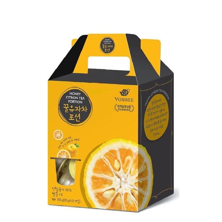 【韓國進口】韓國超紅 蜂蜜茶系列 膠囊隨身包 柚子茶 (30g*10入) 茶球