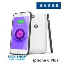 Kuke 酷殼 手機背蓋充電 擴充記憶體 16/64G iphone 6 Plus 商務 型動電源