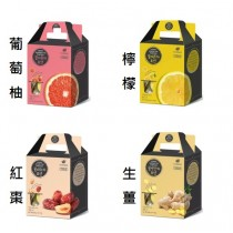 (兩盒一組)【韓國進口】韓國超紅 蜂蜜茶系列 膠囊隨身包 生薑茶/葡萄柚/紅棗/檸檬 (30g*10入) 茶球