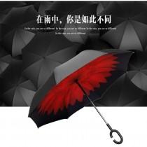 48小時快速出貨/ 最新2016第三代 C型免持式 可站立 C型傘 反向傘 反收傘 反摺傘 雨傘