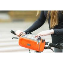 48快速出貨/【現貨】多功能 可觸屏 圓筒包 大容量 自行車手機 單車
