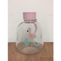 福利品火鶴鳥玻璃水壺 火鶴鳥 玻璃杯 水壺 攜帶方便