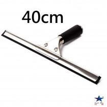 40cm不銹鋼玻璃刮刀 實用方便 不留水印 明亮如新