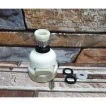 增壓水龍頭 花灑 防濺 可旋轉 過濾嘴 延伸節水器 廚房 省水 居家