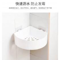 無痕貼三角置物架 三角置物架 無痕貼 收納架 瀝水收納架 衛浴室 廚房
