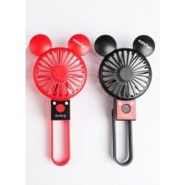 雙耳折疊風扇 迷你風扇 手持式 USB充電 可折疊 小風扇 手持風扇
