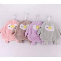 企鵝擦手巾 瞬間吸水 柔軟細膩 親膚舒適 美觀耐用 吸盤設計 浴室 廚房必備 吸盤擦手巾