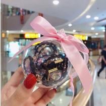 韓式玻璃球髮圈 流行髮飾 配戴舒適 不易掉落 送禮自用兩相宜 大人小孩皆可用