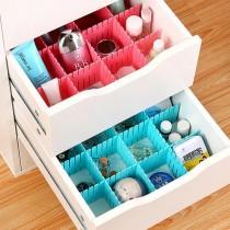 4入抽屜伸縮隔板 創意DIY抽屜分隔板(短)4入裝 抽屜收納 分隔收納 小物收納 桌上收納 衣物收納