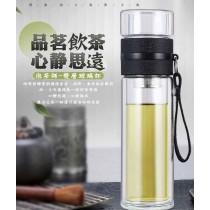 500ml茶水分離杯  茶杯 水壺 泡茶 杯子 熱飲 喝茶 耐熱 防燙