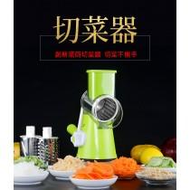 多功能滾筒式手搖切菜器 切片 刨絲磨粉 切菜機 不傷手 不插電 手動切菜器 土豆絲切絲器切片器