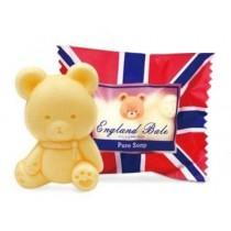 (3個一組)貝爾抗菌皂英倫國旗 肥皂 香皂 英國貝爾熊 小熊造型 送禮 自用