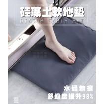 (預購)硅藻土軟地墊 硅藻土 腳踏墊 瞬間吸水 防霉抗潮 防滑 軟地墊 適用浴室 廚房