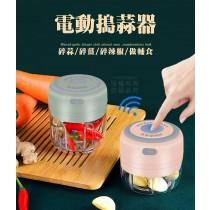 電動搗蒜器 蒜泥機 副食品機 迷你攪碎機 迷你食物料理機 攪拌機 切碎機
