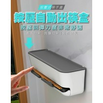 (預購)按壓自動出筷盒 筷子盒 吸管盒 筷子收納 按壓出筷盒 防潮 防塵