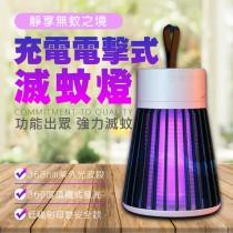 充電電擊式滅蚊燈 手提捕蚊燈 充電式滅蚊器 防蚊 防蟲 USB充電  無線 好攜帶