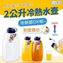 【NAKAYA弧形2公升冷水壺】日本製造