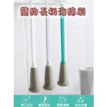 簡約長柄海綿刷 奶瓶刷 長柄刷 清潔刷 海綿刷 保溫瓶 水壺 水杯