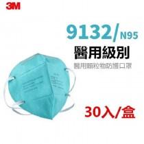(預購)【3M】N95醫用顆粒物防護口罩(30入/盒)