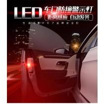 車門防撞警示燈 車門防撞警示燈黃光閃爍凸透鏡設計直上免鑽