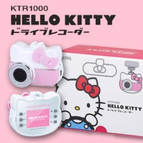 KTR 1000 Hello Kitty行車記錄器 開車汽車