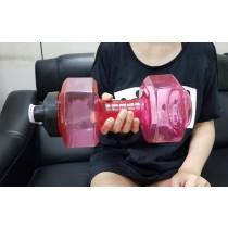2500ml啞鈴水壺 健身房水杯大容量啞鈴創意運動水瓶便攜水壺大水杯